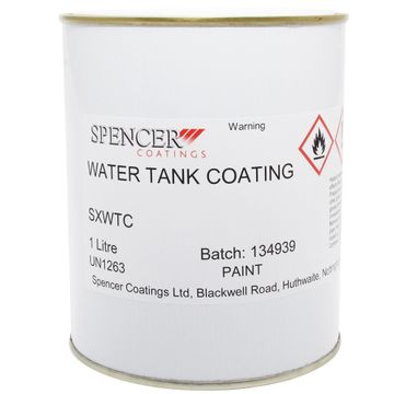 WATER TANK BLACKING 1 LITRE 1