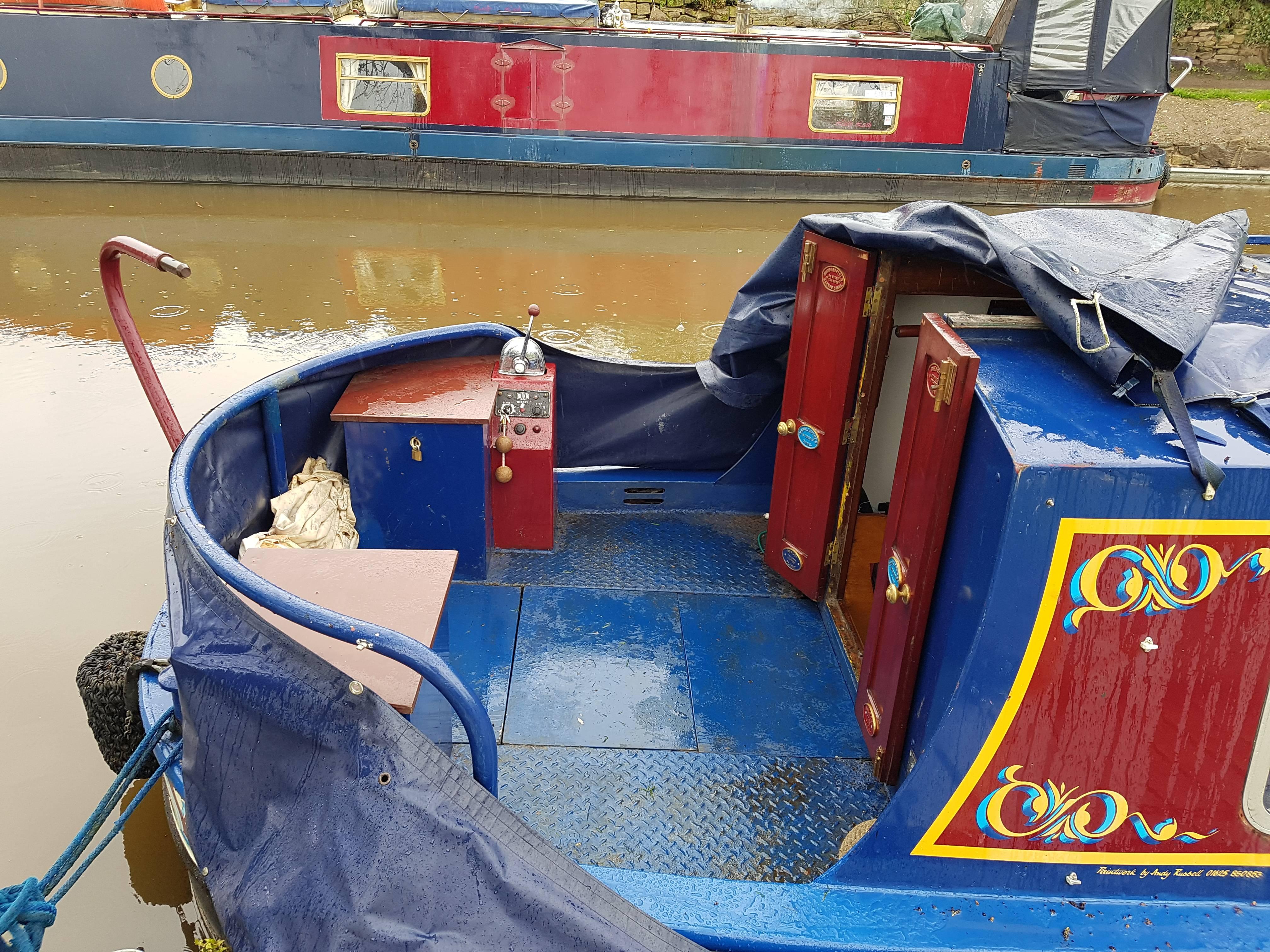 castaway stern deck