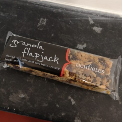 Granola Flapjack Bar 1