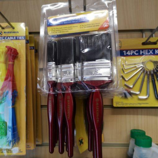 Paint Brush 5 Pc Set - Marksman 1
