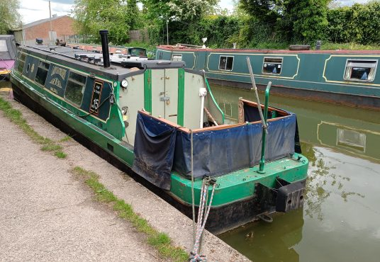 Lady Kathleen - Cruiser Stern Project Boat 3