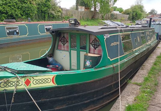 Lady Kathleen - Cruiser Stern Project Boat 1