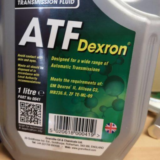 Atf - Automatic Transmission Fluid - Dexron 2 1