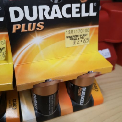 Duracell C TYPE BATTERY 2 PACK 1