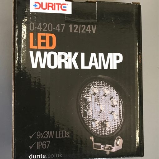 LED WORK LAMP 27W 1