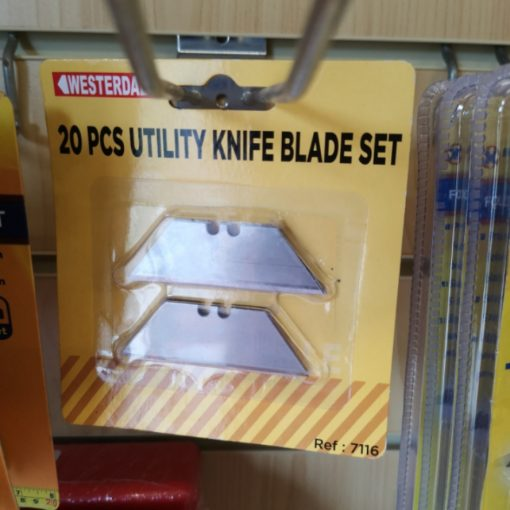 Utility Knife Blade (20pcs) 1